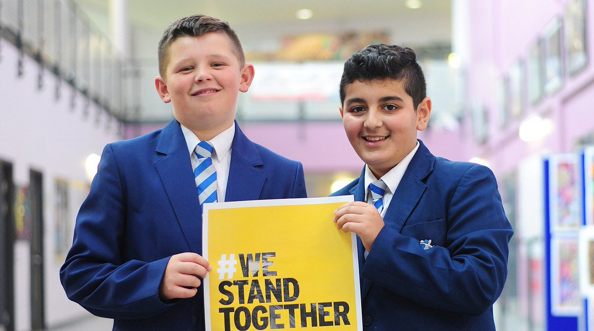 Jack and Rani are with us. Are you? #WeStandTogether https://t.co/JS5Z...