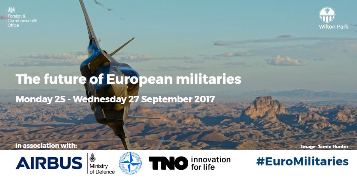 On my way to @WiltonPark to co-chair w @pncornish on how to organize European militaries. Interesting days ahead! #säkpol #svfm #NATO #EU<br>http://pic.twitter.com/L18YPDLIYH