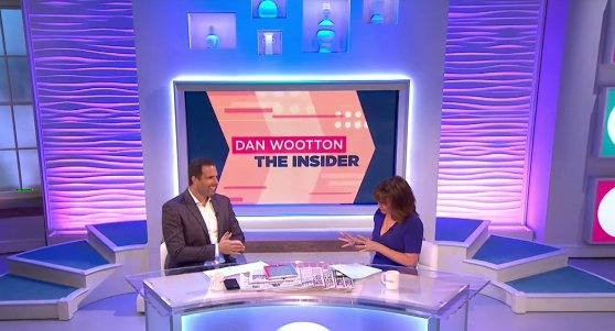 RT @ITVLorraine: .@danwootton's here now with all the showbiz latest! ⭐ https://t.co/7bHl6aQsAV