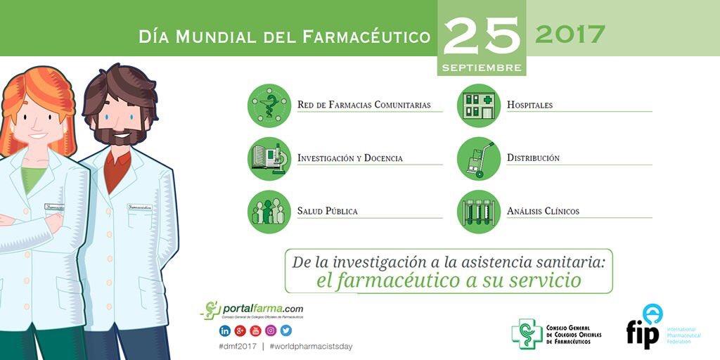 Desde #Bayer os deseamos un ¡Feliz Día Mundial del Farmacéutico/a! #DM...