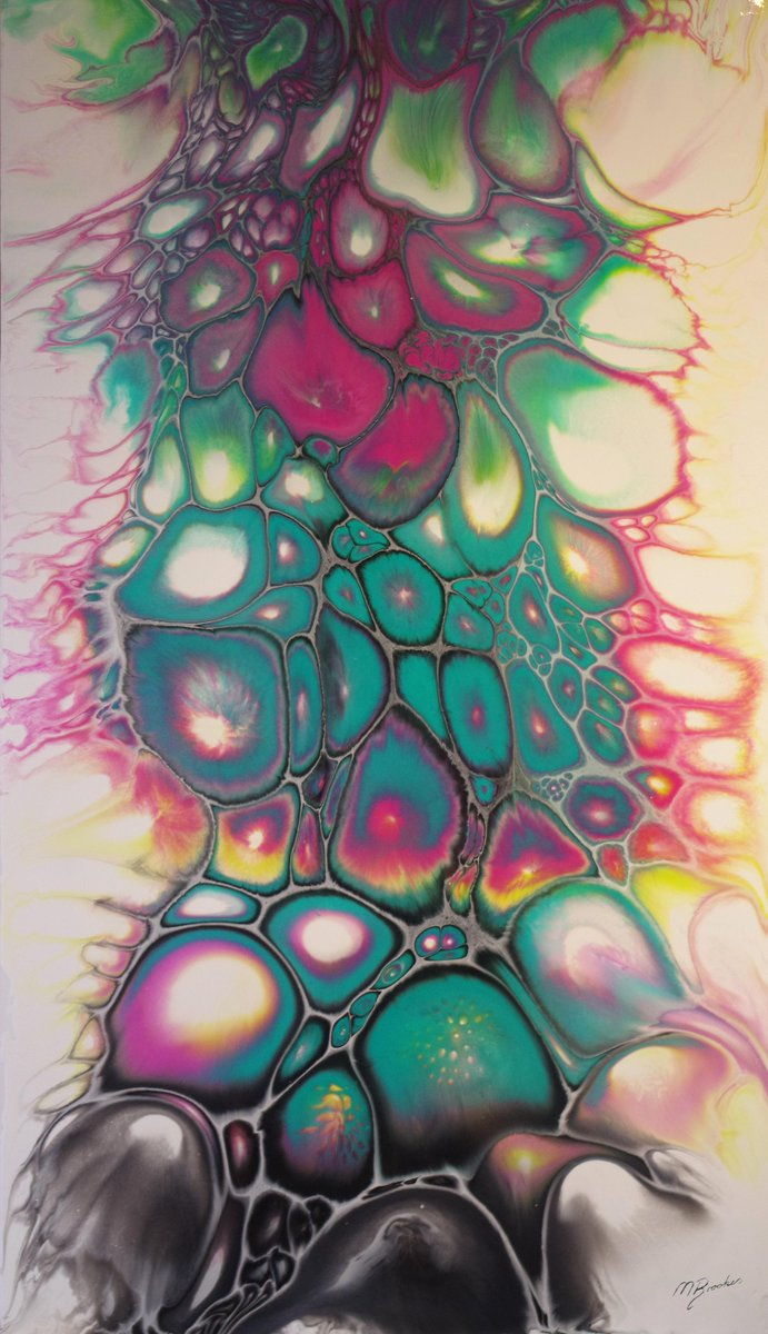 Tickled Pink #fluidpainting #fluidart #abstract #abstractpainting  #fluidacrylic #acrylicpour #abstractart #FluidPainting @FluidPainting<br>http://pic.twitter.com/rffHkwFUoX