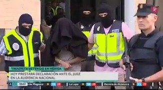 Hoy declarará ante el juez de la Audiencia Nacional el presunto yihadista detenido el pasado viernes en Mérida #EXN #ExtremaduraNoticias https://t.co/ex6zPAYmRM