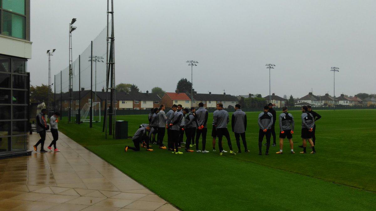#LFC at Melwood as the prepare to fly to Russia at lunchtime. Everyone...