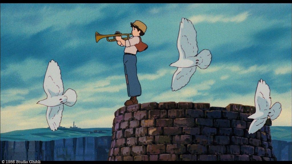 『天空の城ラピュタ』バズー