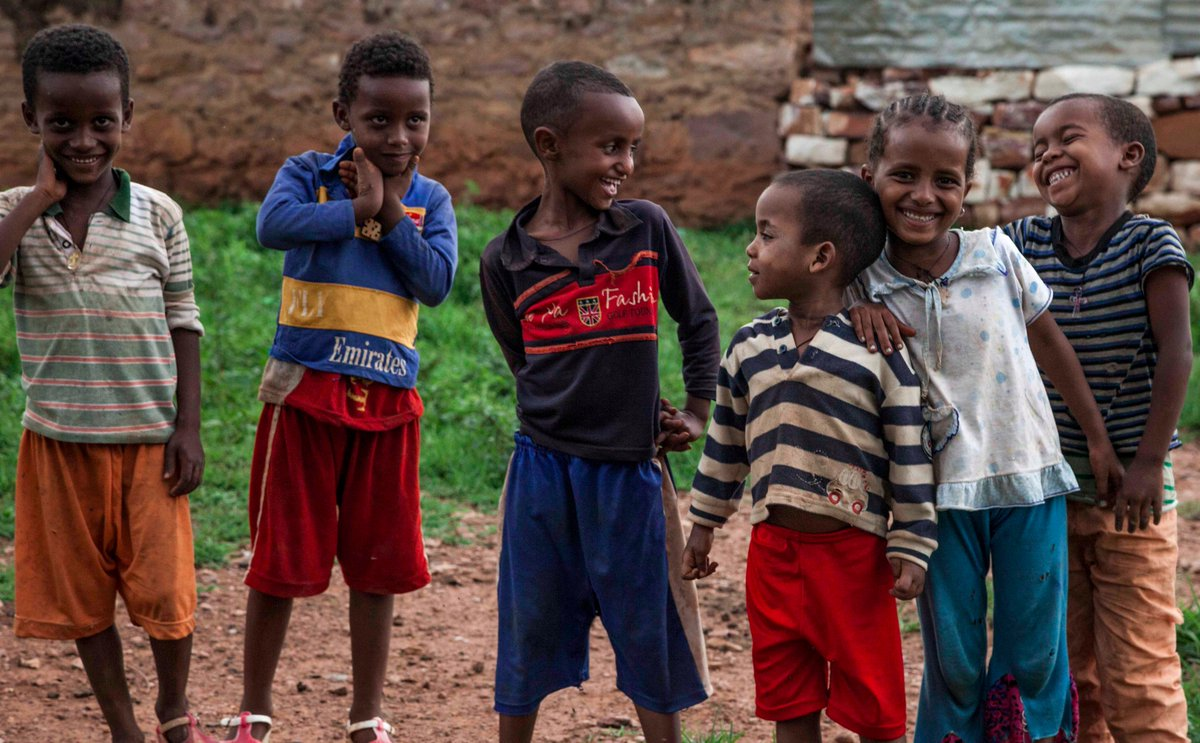 50% of #refugees from #Eritrea in Tigray are children, many arrive unaccompanied or separated from their families. #WithRefugees<br>http://pic.twitter.com/7qNgAtYRSm