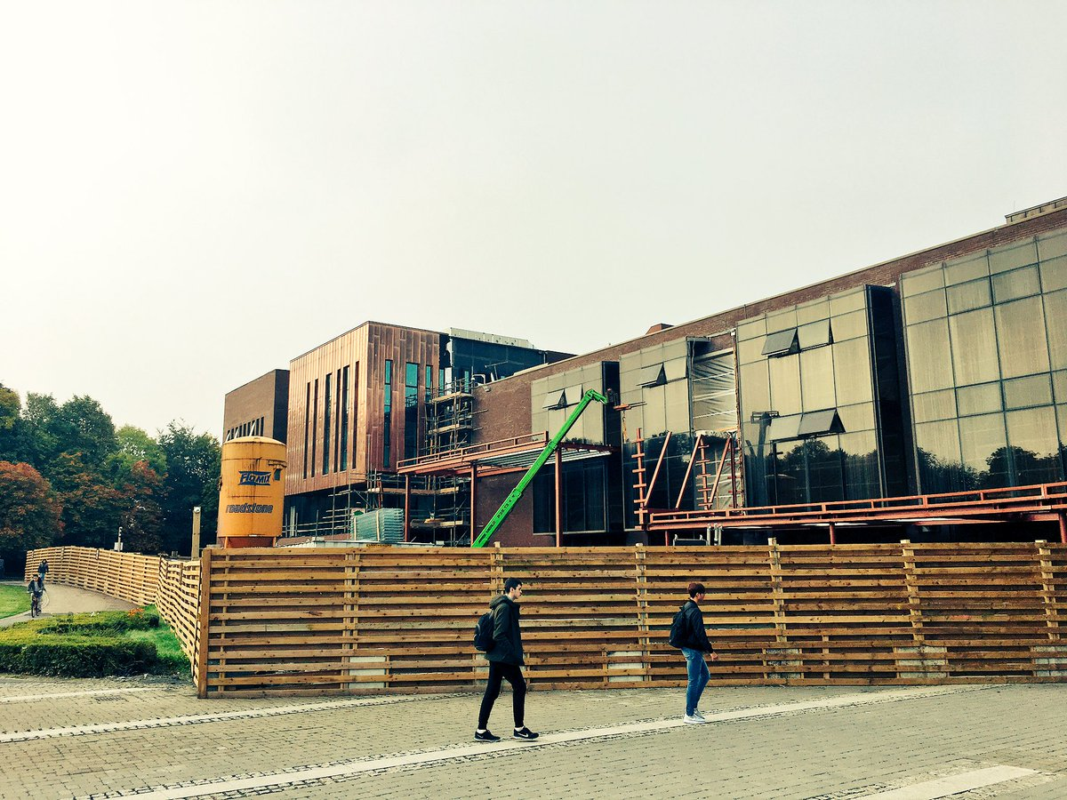 Construction on the new entrance to the @ULLibrary started last week. #ThinkBigAtUL <br>http://pic.twitter.com/k0KKCOOxUD