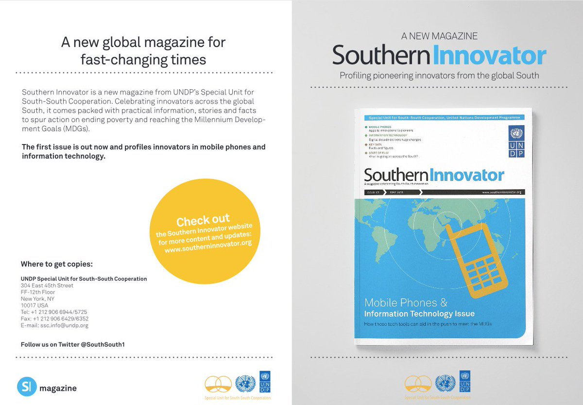 Southern #Innovator Issue 1: Mobile #Phones and #Information #Technology #UNDP  https:// books.google.ca/books/about/So uthern_Innovator_Issue_1_Mobile_Phones.html?id=Q1O54YSE2BgC &nbsp; … <br>http://pic.twitter.com/UAIksytnUH