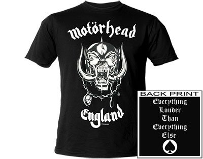 Motorhead England  XXL T-Shirt from  http:// affordablesounds.co.uk  &nbsp;    #MotorheadMonday #TWDA #87rt #flockbn #atsocialmedia <br>http://pic.twitter.com/I183ekwE4v