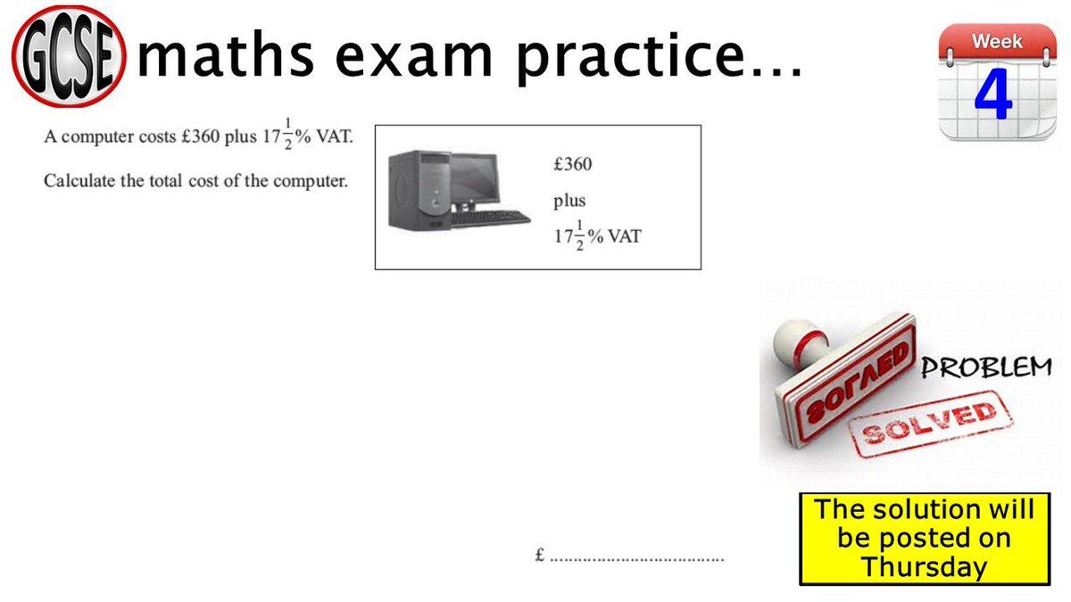 castle rock school on twitter another exam style maths question rh twitter com