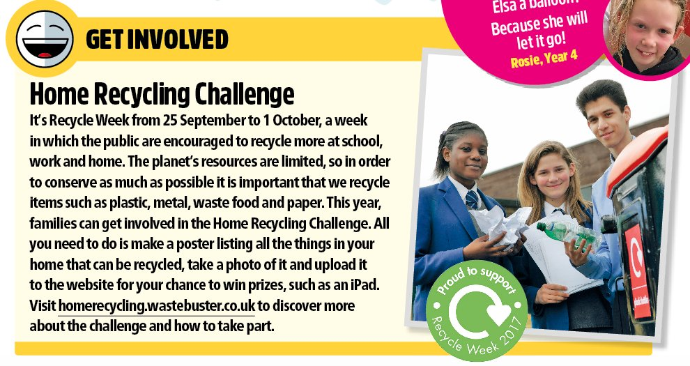 It's #RecycleWeek! Find out how you can get involved at https://t.co/z...