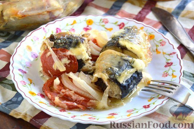 Рецепт рыбы запечёная в духовке