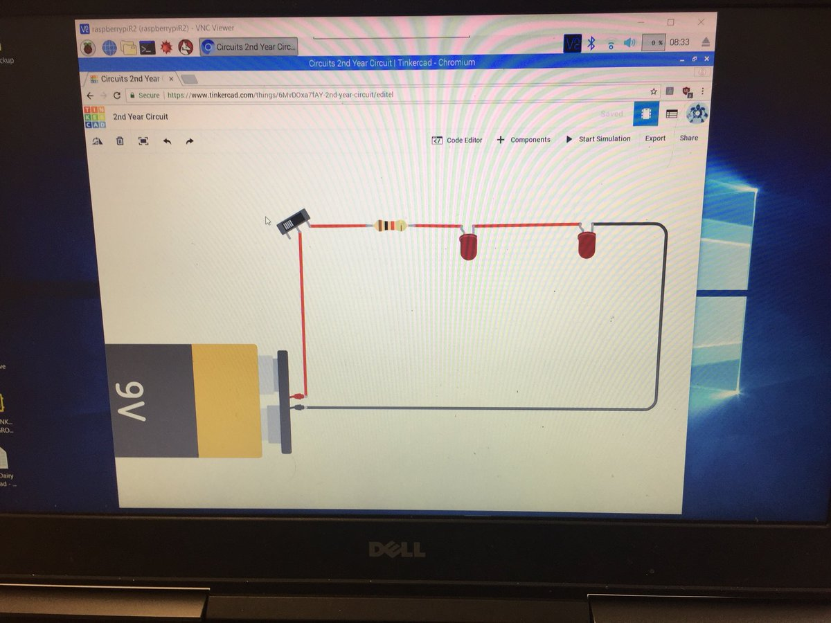 Pj Mctavish On Twitter Old Monitor Raspberry Pi Tinkercad Electronic Gadgets Circuit Diagram Circuits Vnc Viewer Live Diagrams Our Soldering Bench