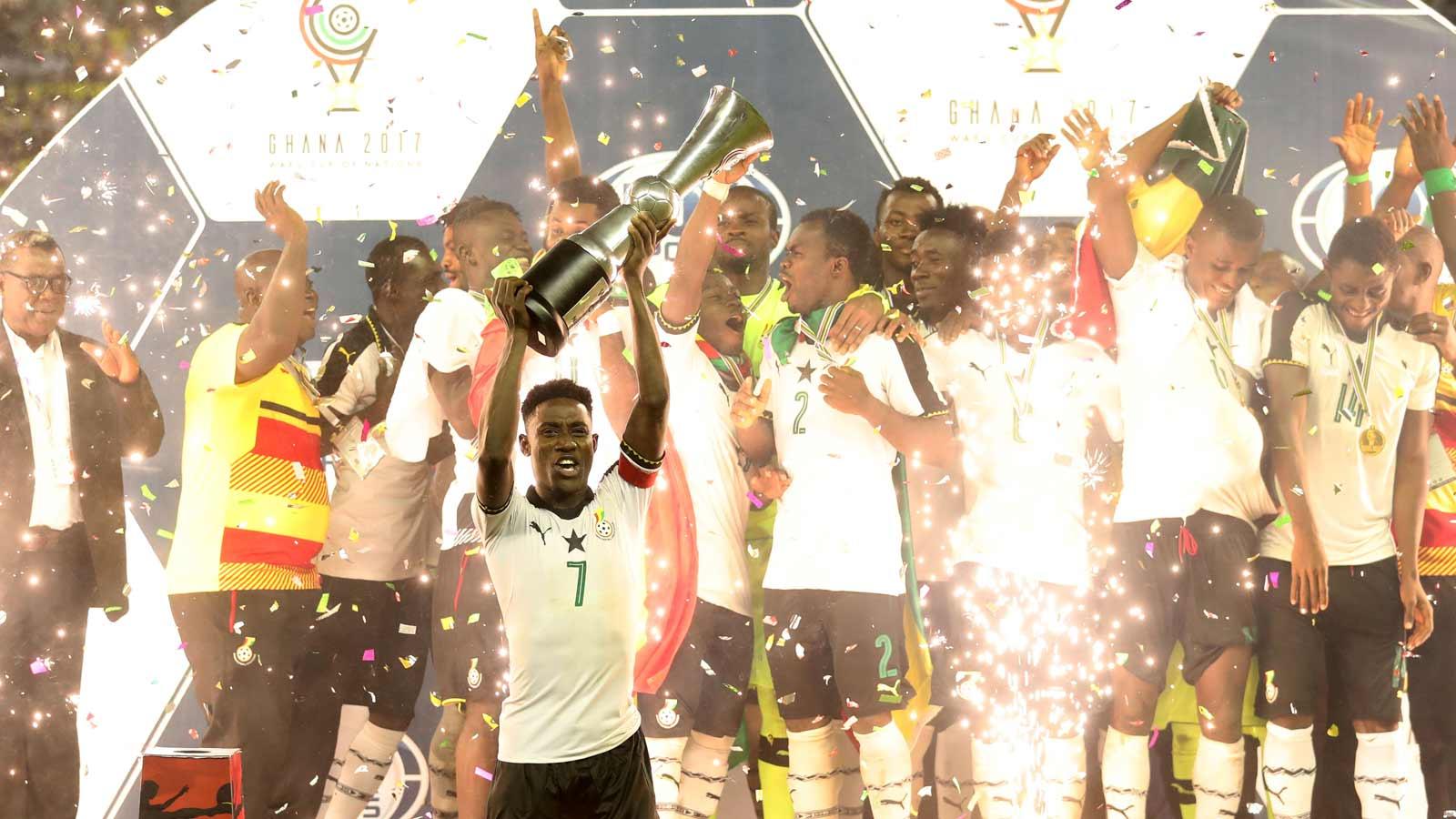 Ghana beat Nigeria to lift 2017 FOX-WAFU Cup - https://t.co/saBSnJMIyA https://t.co/3usuzBUlzT