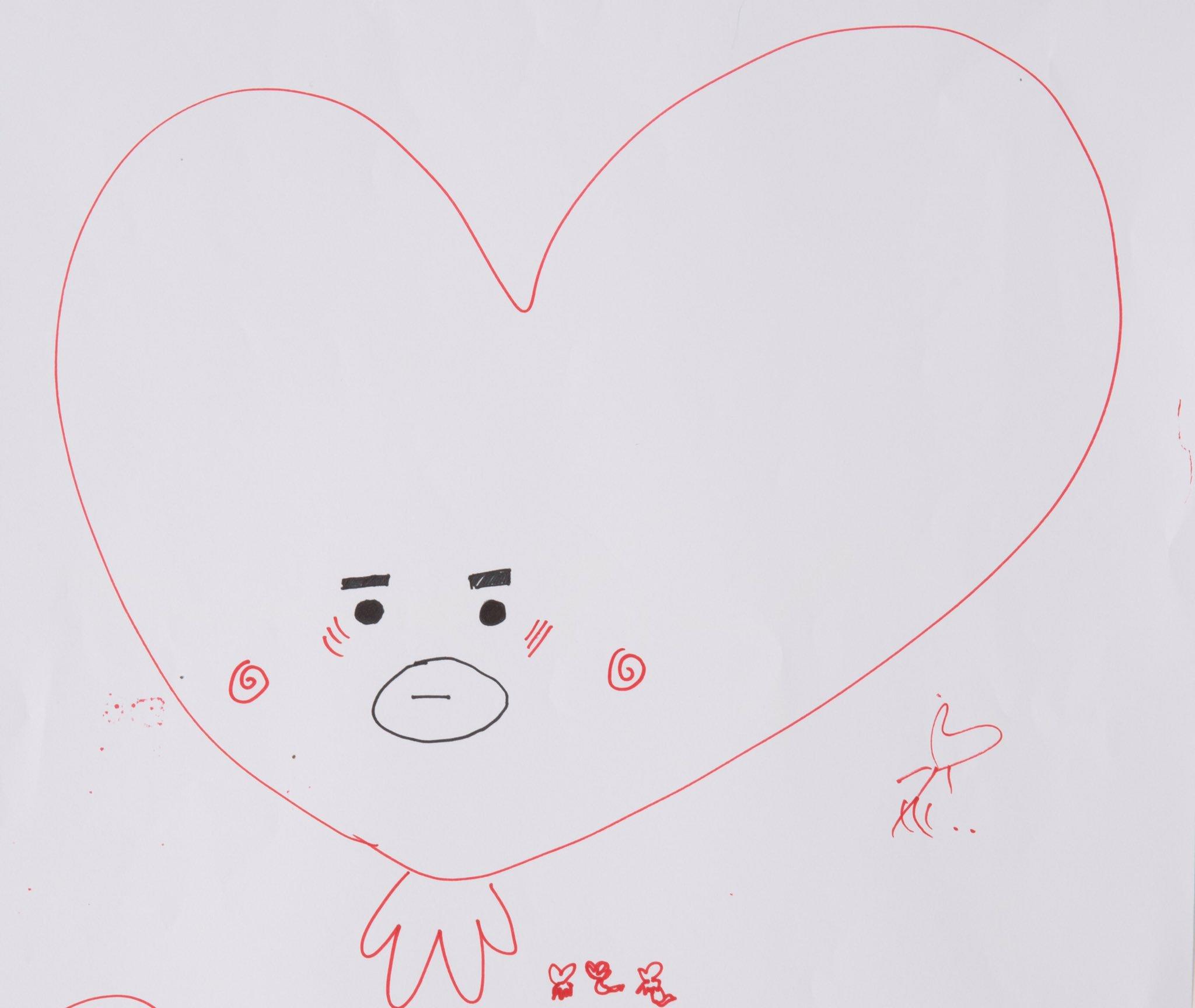 Bt21 Drawing Tata - Korean Idol