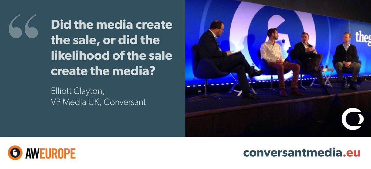 Watch: On-demand #attribution panel debate, filmed live at #AWEurope w/ @Google, @AOL, @Campaignmag &amp; @ConversantUK  http:// hubs.ly/H08pqsx0  &nbsp;  <br>http://pic.twitter.com/XmNn6IHH17