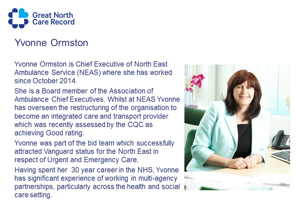 @YvonneOrmston CEO @NEAmbulance confirmed as speaker in the panel session at #GNCRnetwork 28 Nov  http:// bit.ly/2wYv4Yy  &nbsp;   #datasaveslives <br>http://pic.twitter.com/ZefZwoXkA7