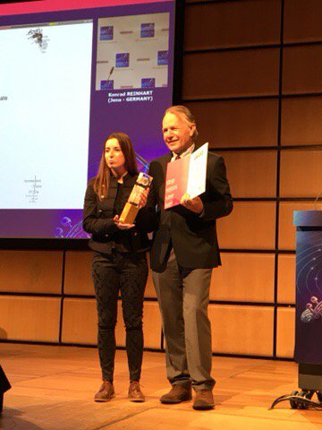 GSA Award for Jelena Slijepcevic at #ESICM2017 #LIVES2017 - congratulations!  from the whole #WorldSepsisDay team <br>http://pic.twitter.com/CMTqNjHiN5