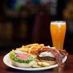 Big Bold Burgers! Kickoff your week with Burger Monday at DJ's Dugout, $3 off ALL Burgers ALL DAY! Plus, Cowboys vs Cardinals MNF at 7:30pm!