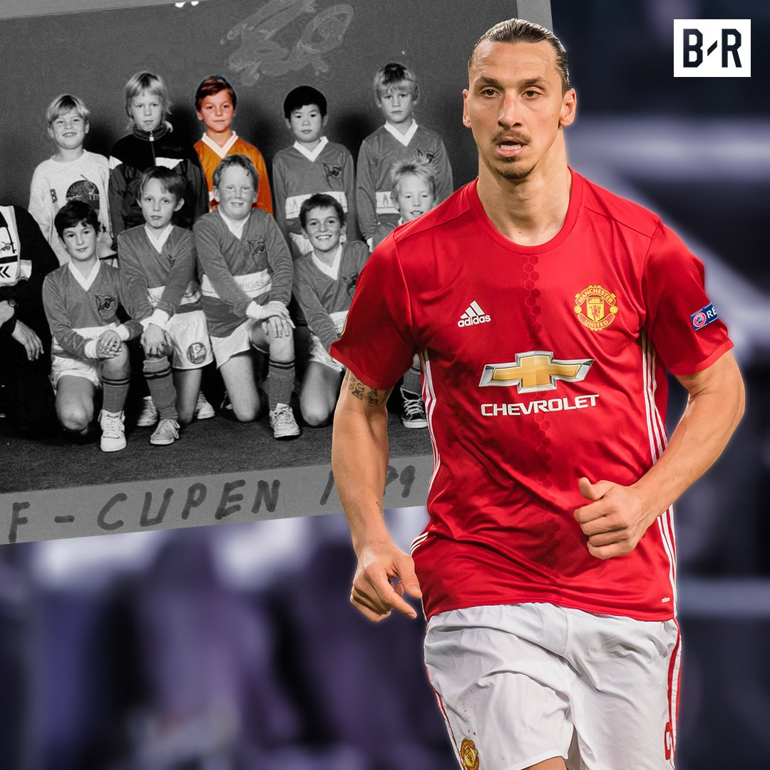 It's Zlatan Ibrahimovic from his FC Rose...