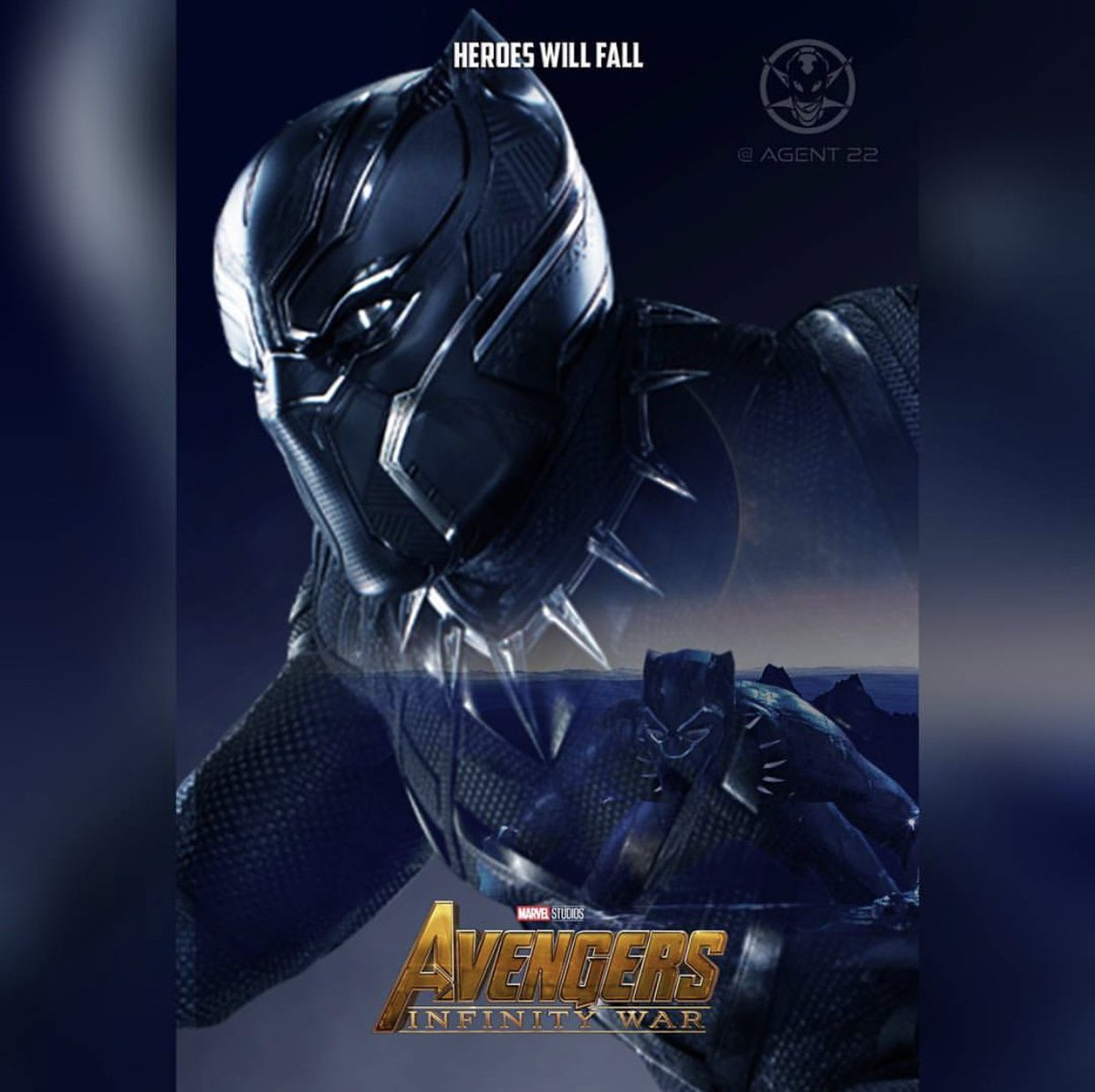 FAN MADE @Avengers #InfinityWar character posters 2/2 #WinterSolider #BlackPanther #DoctorStrange #StarLord <br>http://pic.twitter.com/ZE92pXm8RY