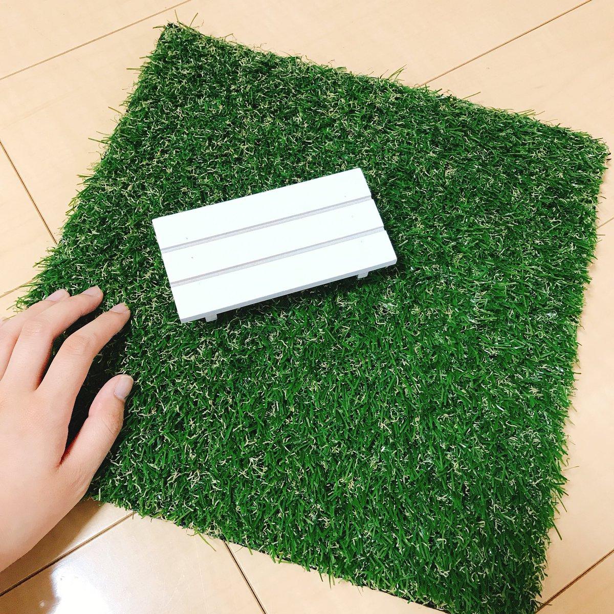 test ツイッターメディア - 消しゴムコレクションの撮影用小物として新しい人工芝を買ってきました DAISOのとSeriaのを見比べてみた結果Seriaのが好み?? 大きさもいい感じ? 抜け毛にはちょっと注意??です  #消しゴム #人工芝 #イワコー #iwako #Seria https://t.co/MqUPKhCzfb