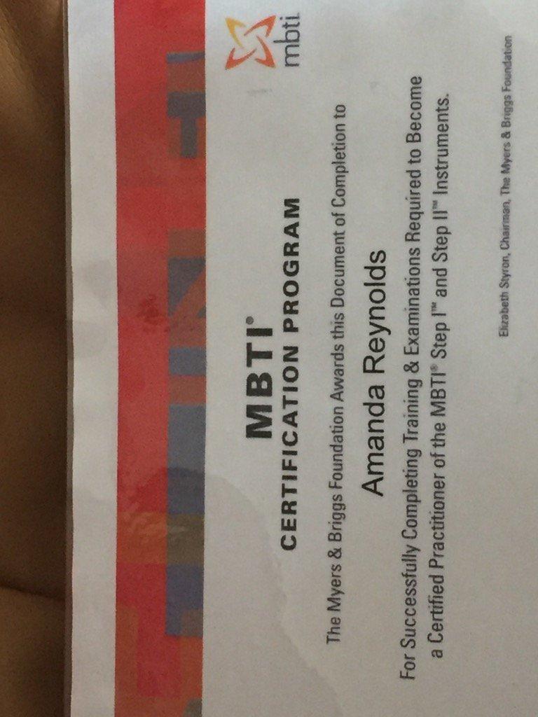 Amanda Reynolds On Twitter A Little Shot Of Certificate I