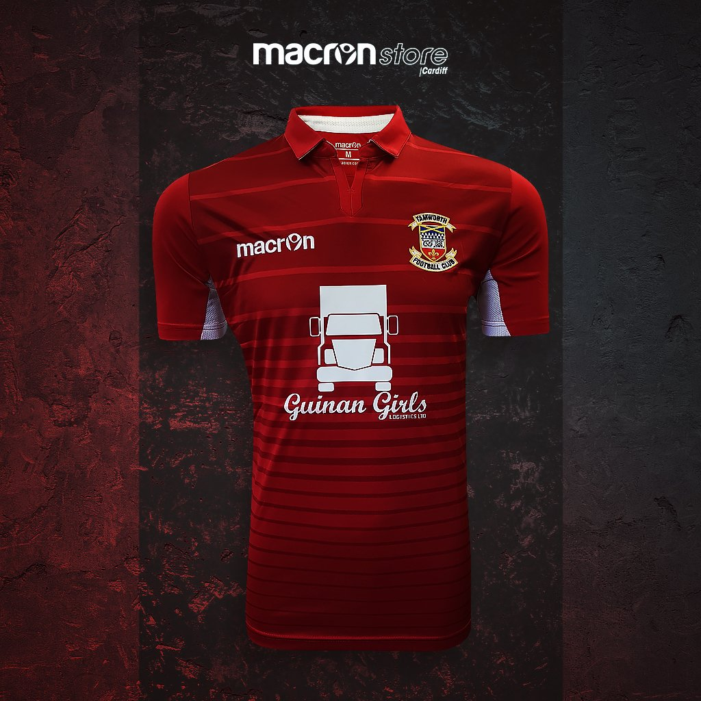 The @tamworthfc academy and scholars teams will be sporting the home shirt sponsored by @GuinanGirls  #macron #newkit #thelambs #tamworth <br>http://pic.twitter.com/ap6cBrfJVr