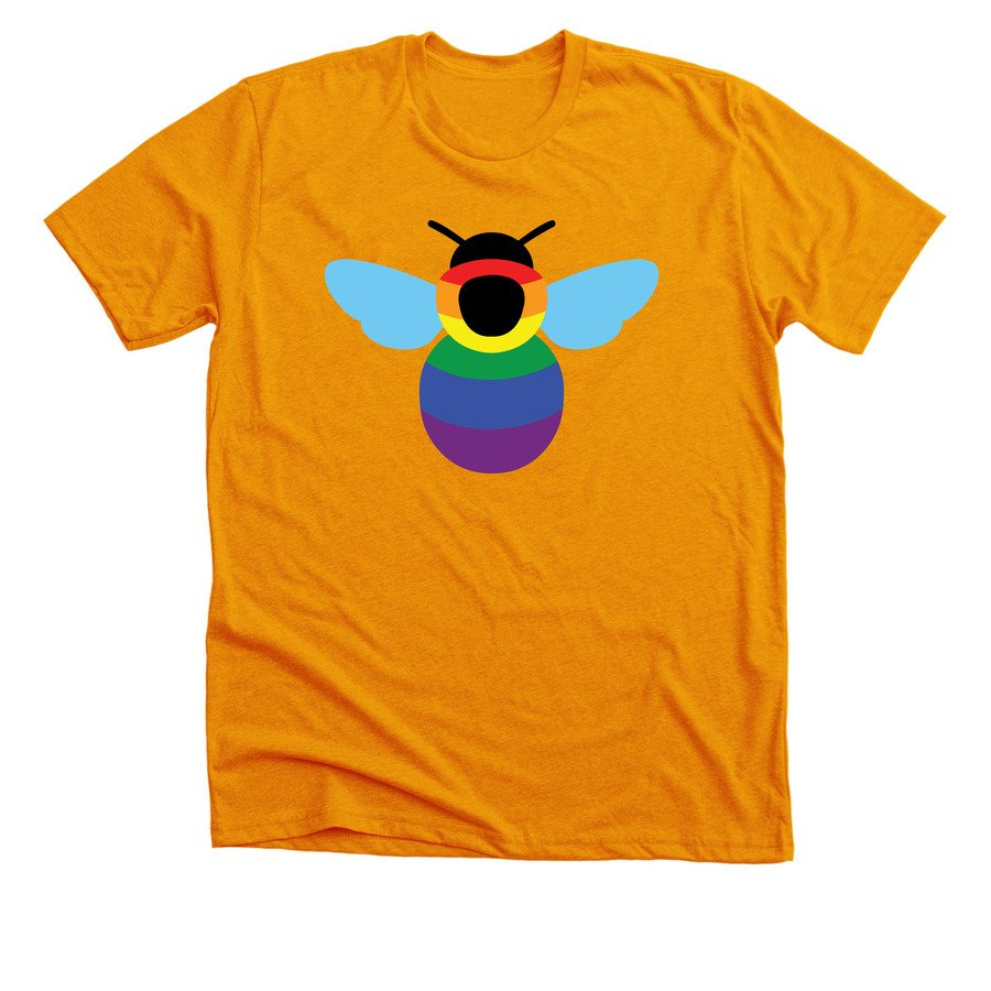 I have a limited edition rainbow bee tee available right now on @bonfire! It supports my #scicomm work.  http:// bonfire.com/rainbowbee  &nbsp;   #sciart<br>http://pic.twitter.com/cRJvHlif8R