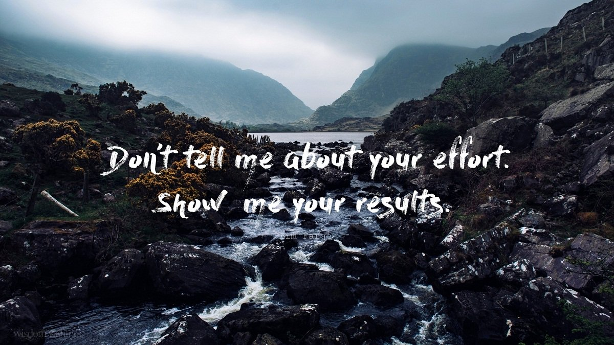 Don&#39;t tell me about your effort. Show  me your results. - Tim Fargo | #MondayMotivation #Entrepreneur #Startup #MakeYourOwnLane #Quotes <br>http://pic.twitter.com/k1oSZFZdSy