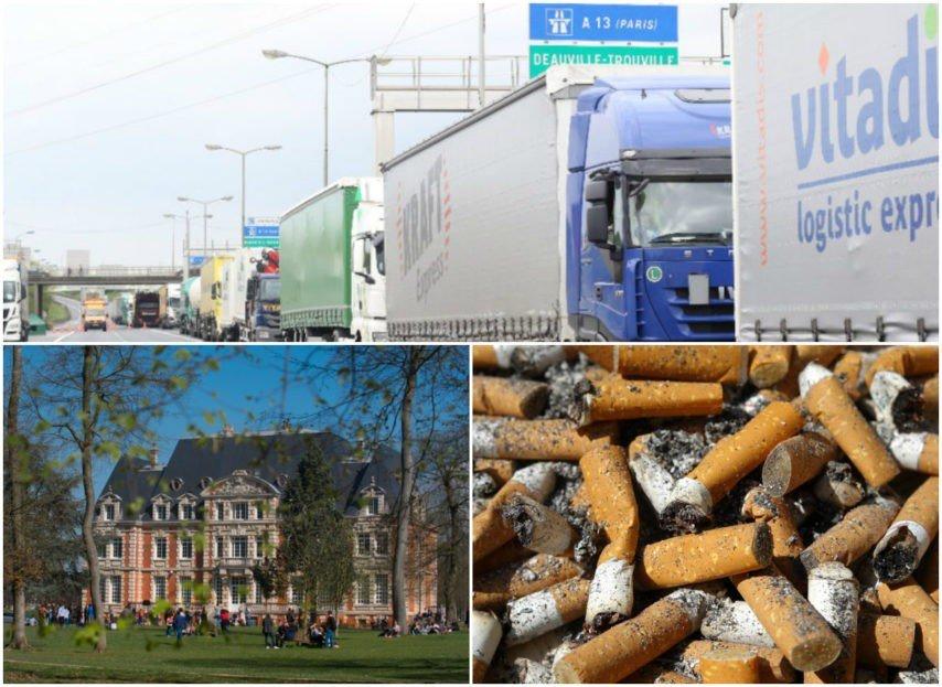 Routiers en grève, Neoma Business School ambitieuse, boîtes à clopes… L'actu du 25 septembre en Normandie https://t.co/HJYmBMEHcF #Normandie