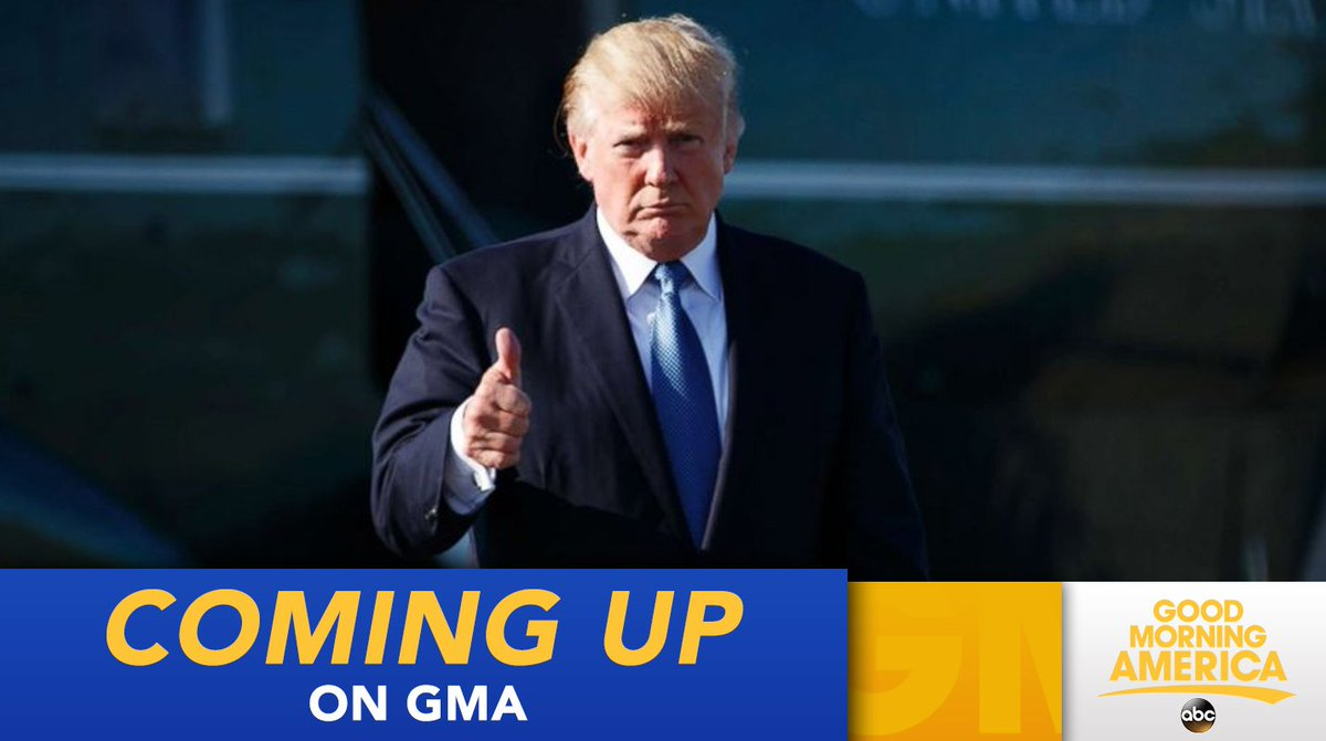COMING UP ON @GMA: President Trump issues new travel ban restricting entry from eight countries