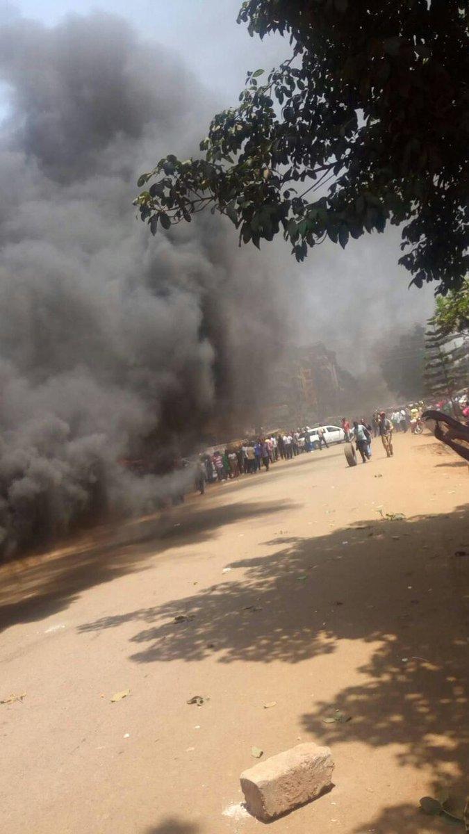 Kiambu town demos against Babu Owino at the moment cc @Disembe https:/...
