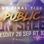 #NRLGF tickets will go on sale to the public tomorrow! Secure your seat and help #BringTheThunder to @ANZStadium! ⚡️