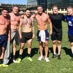 The Sydney based England boys are keeping sharp ahead of the World Cup Squad announcement day 💪