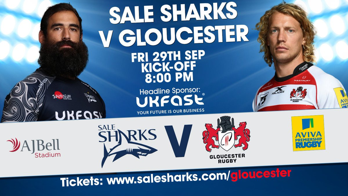 Its 5 days until we face @gloucesterrugb...