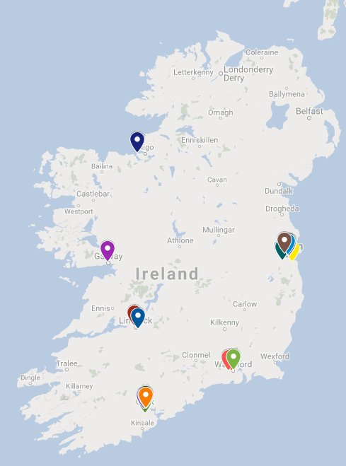 Map Of Ireland Please.Dr No On Twitter Created An Xr Map Of Ireland Showing Groups