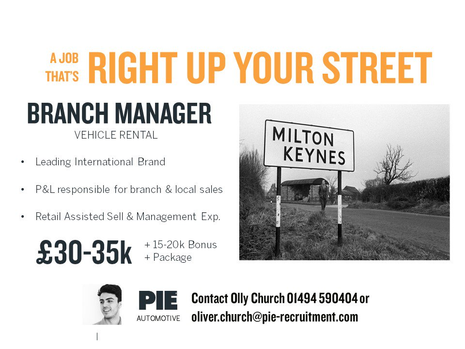 Calling all #BranchManagers in #MiltonKeynes  Come &amp; check out this #Automotive opportunity &gt;&gt;  http:// bit.ly/2hqZFsq  &nbsp;   #Sales<br>http://pic.twitter.com/phyFazUlG2