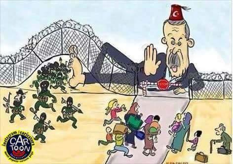 Terrorists along with #UN  . <br>http://pic.twitter.com/0Q4It85QGb