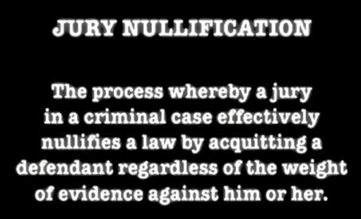 #JuryNullification or a #JuryVeto is the Unspoken #Pardon Process, learn more by clicking here ~  http:// blog.criminallaw.miami/2014/12/jury-n ullification-unspoken-pardon.html &nbsp; …  ~ #HaberPA<br>http://pic.twitter.com/l3OsYSuE8i