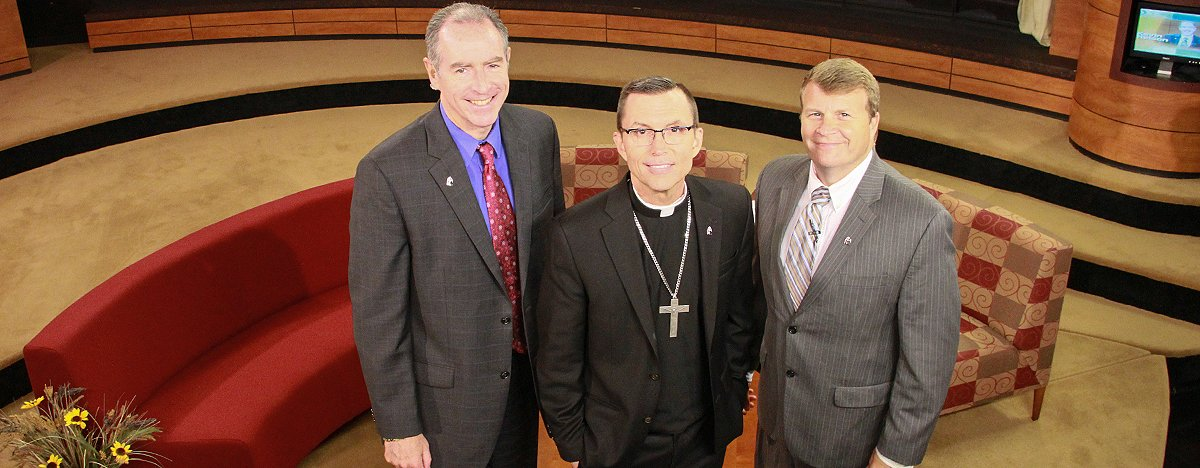 test Twitter Media - Tune in tomorrow at 10am to @CatholicTV: @BpRobertReed will interview Head of School Dr Santos on This is The Day: https://t.co/WnFdKHVnii https://t.co/XkxqnetxdF
