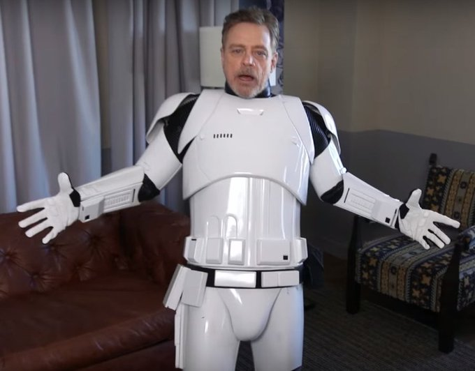Happy Birthday to Honorary Member Mark Hamill ( May The Force Be With You!
