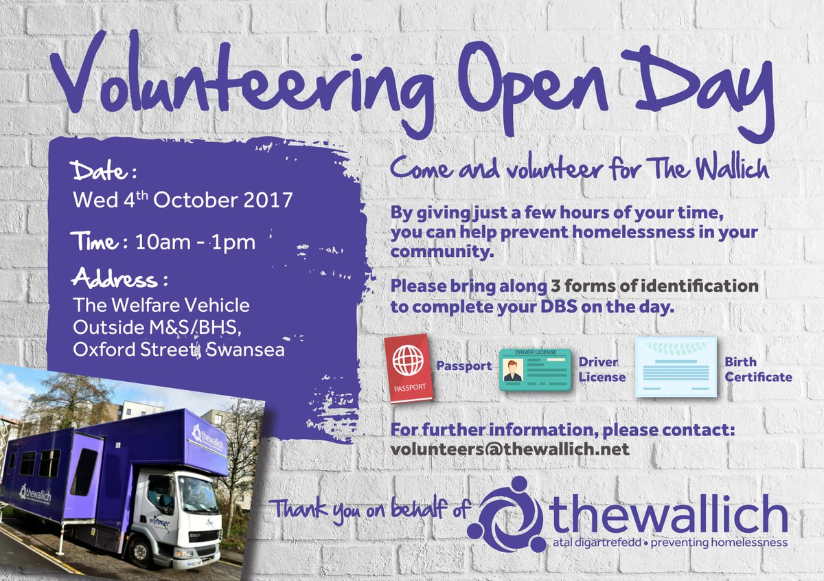 Calling #students  #Volunteer Open Day - Oct 4th, #Swansea. #Donate your time, learn new skills and prevent #homelessness.<br>http://pic.twitter.com/DPEs4RrPWq