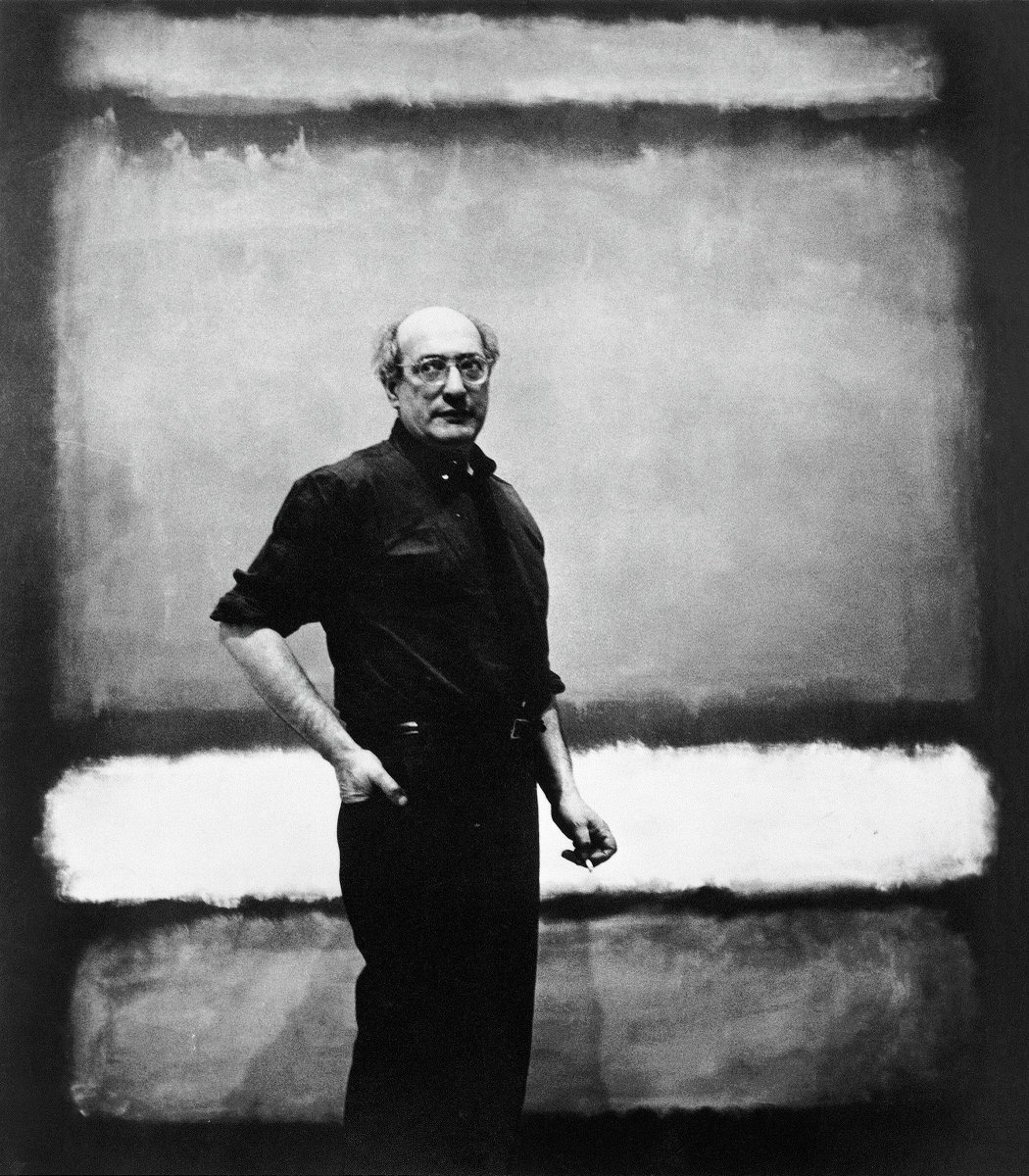 &quot;A painting is not a picture of an experience; it is an experience.&quot;—Mark Rothko. Happy birthday, #MarkRothko, born #otd in 1903. <br>http://pic.twitter.com/T8iv7RavZM