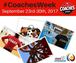 Celebrate the important role of the coach during National #CoachesWeek...