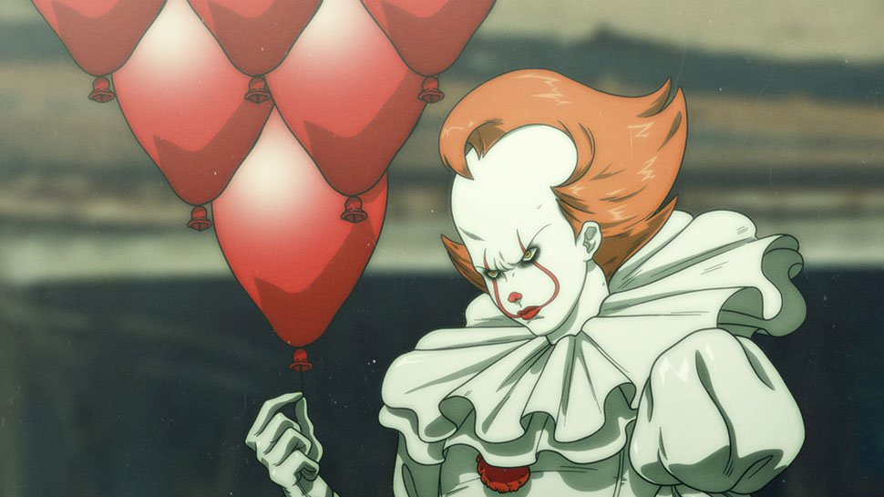 #ITMovie gets a creepy anime makeover https://t.co/KRleowVQYi https://t.co/jsBd21uAxn
