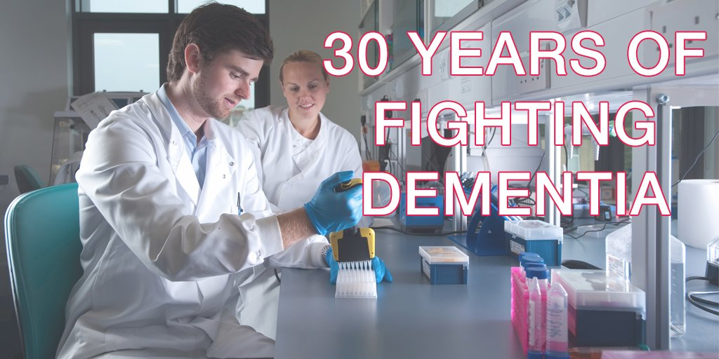 Happy birthday @AlzheimersBRACE – 30 years closer to defeating dementia. Please support https://t.co/Cl3qElJu8r https://t.co/FWf96PkB6q