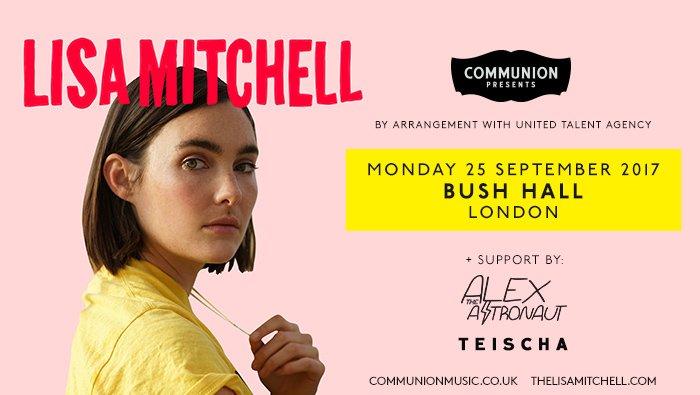 TONIGHT! @lisahmitchell @Bushhallmusic with support from @AtheAstronaut & @teischa 👌 https://t.co/BIdEOSPEQ6 https://t.co/1tC4I5l3rZ