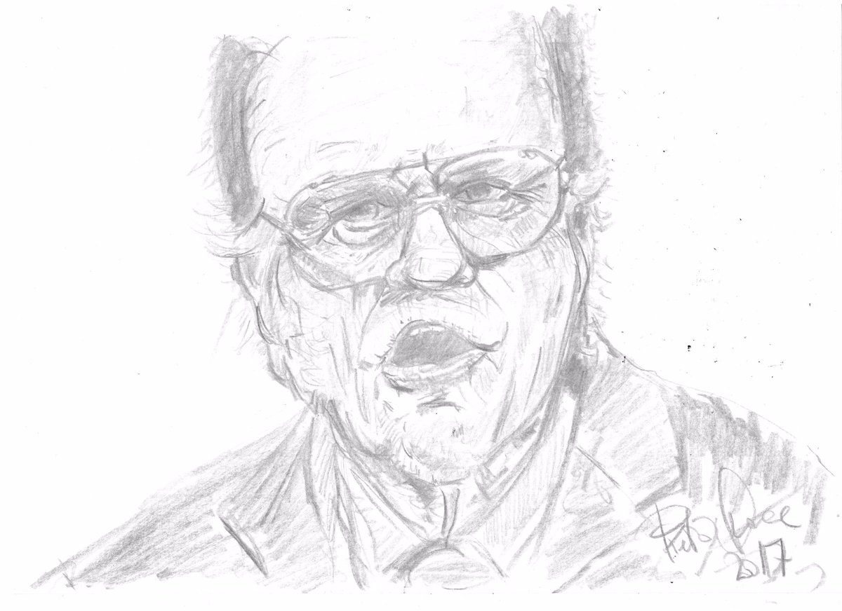 study in line #thedailysketch #portrait #pencil #drawing #face #BillyGraham #preachers #God #Jesus #illustration #practise #artwork #artist<br>http://pic.twitter.com/ZPvY6uqbBE