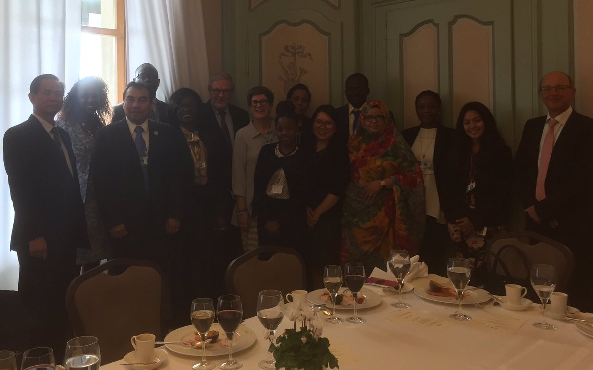 Hosting reps from LDC&#39;s &amp;  SIDS&#39;s - #DK proud new donor to #LDC #SIDS Trust Fund for participation @ Human Rights Council #HRC36<br>http://pic.twitter.com/wtXqC7cBRz