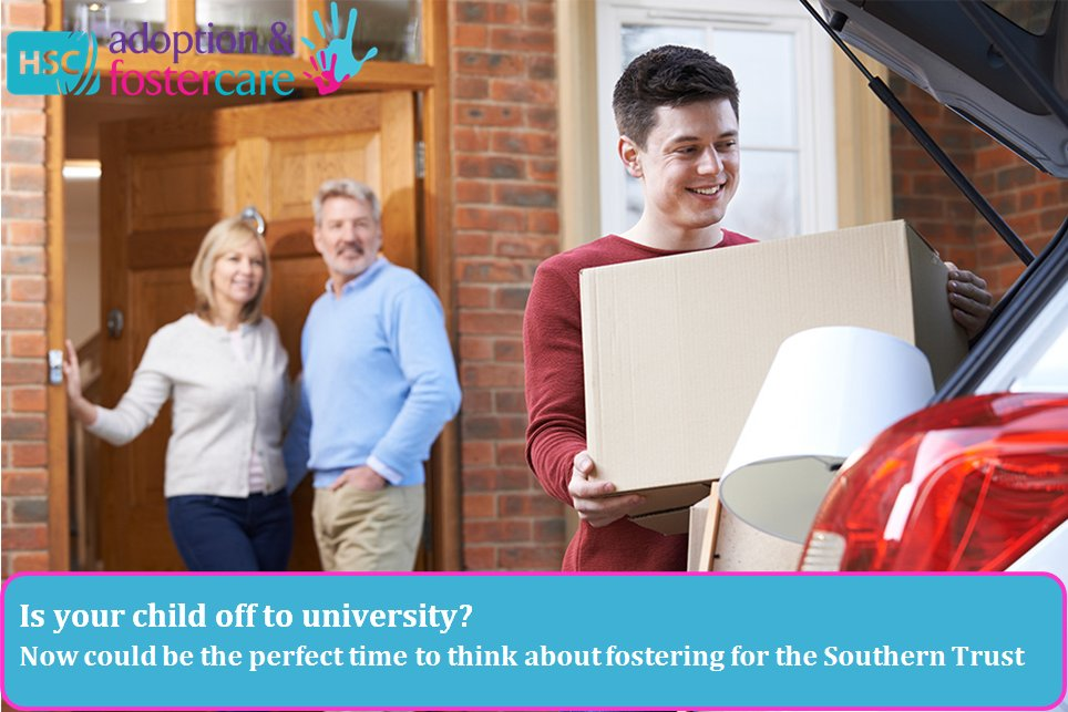 For more info about fostering contact the Family Placement Service on 02838337181 or visit  http://www. adoptionandfostering.hscni.net/fostering  &nbsp;   #University #Fostering<br>http://pic.twitter.com/ulWjBNE6EX